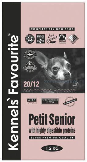Kennels` Favourite Petit Senior 1,5 кг.