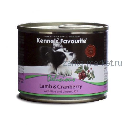 Kennels` Favourite Lamb & Cranberry Ягненок и Клюква. 200 гр.