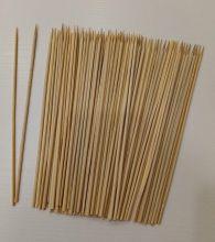шпажки с заостренным концом материал бамбук  диаметр 3 мм ДЛИНА НА ВЫБОР упаковка 10 шт