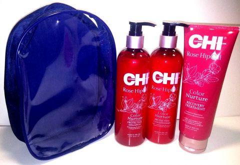 Подарочный набор с Маслом Розы (CHI Rose Hip Oil)