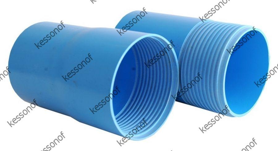 Обсадная пнд труба для скважины с резьбой 117 х 6,8 мм