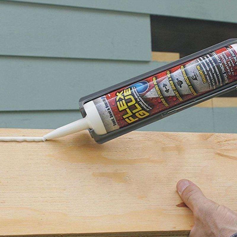 iizw Водостойкий универсальный клей сверхсильной фиксации для ремонта внутри и снаружи дома Flex Glue (300 мл) Новый, Гарантия, Доставка