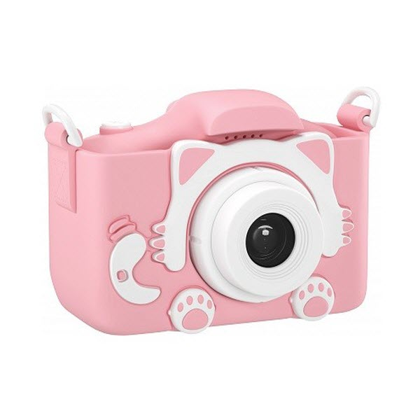 Детский цифровой фотоаппарат Children's Fun Camera Cute Kitty. Цвет: Розовый