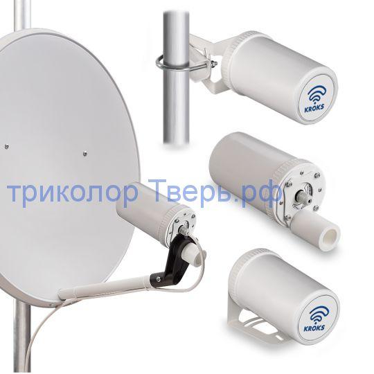 Роутер Kroks Rt-Pot RSIM DS sH с модемом Huawei E3372, поддержкой SIM-инжектора