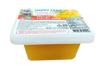 """Желе фруктовое """"Манго"""" с кусочками фруктов 150 гр ТМ """"HAPPY FARM"""""""