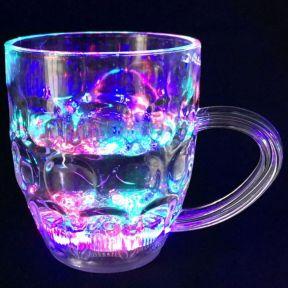 iizw Светящаяся кружка для пива и других напитков ColorCup (300 мл, 1 штука) Новая, Гарантия, Доставка