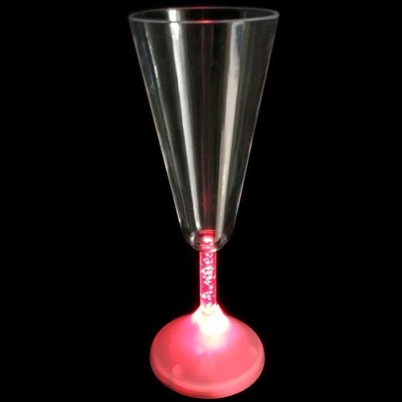 iizw Волшебный бокал с подсветкой для шампанского и других напитков (170 мл, 1 штука) Новый, Гарантия, Доставка