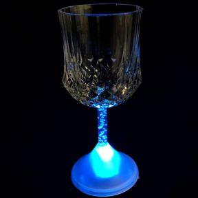 iizw Волшебный бокал с подсветкой для вина и других напитков WineGlass (227 мл, 1 штука) Новый, Гарантия, Доставка