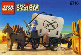 6716 Лего Оружейный фургон