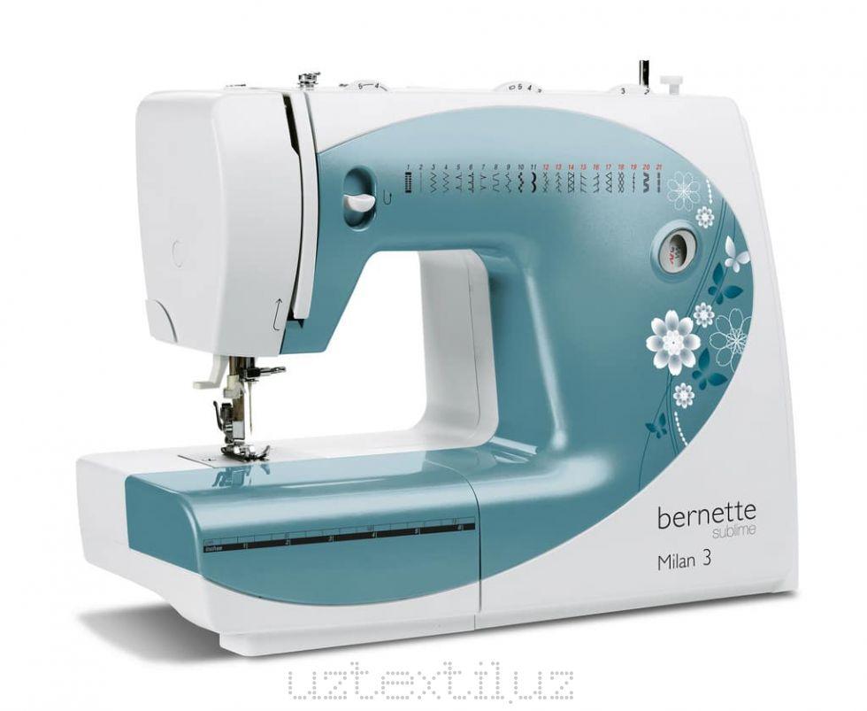 Швейная машина Bernette Milan 3 Tikuv Mashinasi