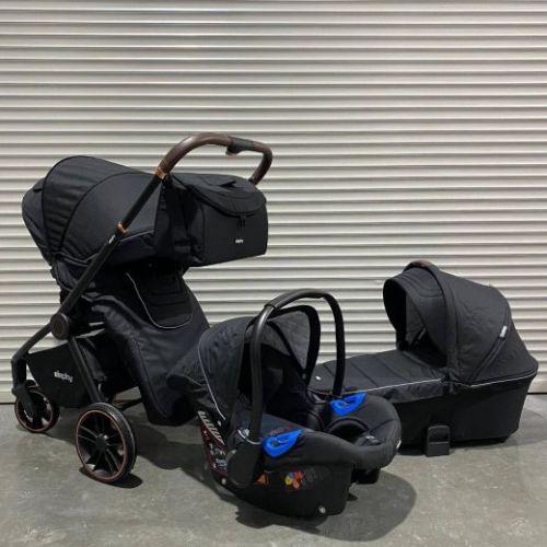 Модульная коляска 3в1 Elephy E70 Черный