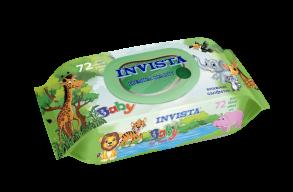 ТМ «Invista» Для детей с первых дней жизни 72 шт.