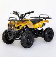 MOTAX Mini Grizlik Х-16 электростартер Квадроцикл бензиновый желтый камуфляж 1