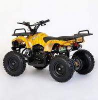 MOTAX Mini Grizlik Х-16 электростартер Квадроцикл бензиновый желтый камуфляж 3