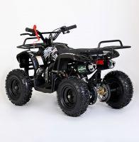 MOTAX Mini Grizlik Х-16 электростартер Квадроцикл бензиновый черный 3