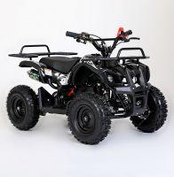 MOTAX Mini Grizlik Х-16 электростартер Квадроцикл бензиновый черный 6