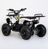 MOTAX Mini Grizlik Х-16 электростартер Квадроцикл бензиновый белый 3