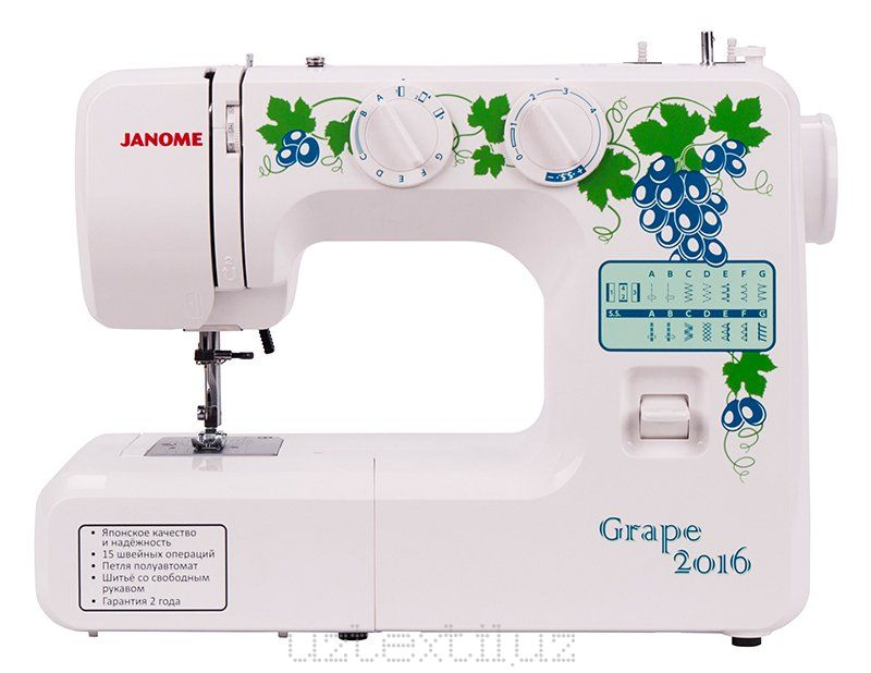 Швейная машина Janome Grape 2016 Tikuv Mashinasi