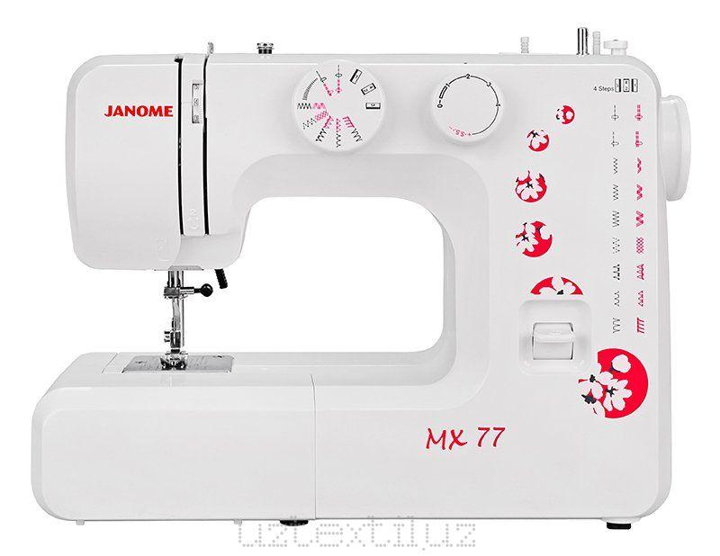 Швейная машина Janome MX 77 Tikuv Mashinasi