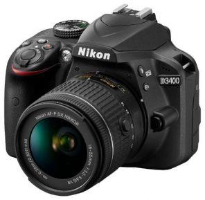 Зеркальный фотоаппарат Nikon D3400 Kit 18-55mm DX  VR