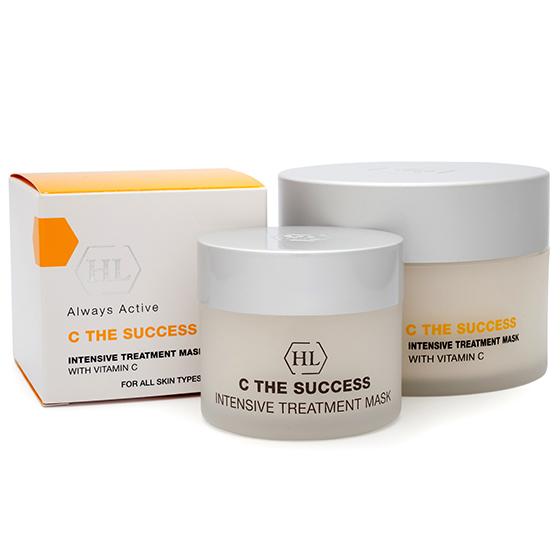 C THE SUCCESS INTENSIVE TREATMENT MASK - Освежающая подтягивающая сокращающая поры маска с эффектом выравнивания цвета кожи.