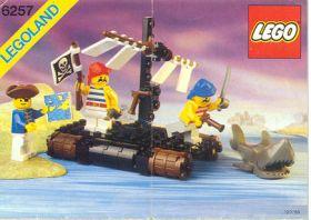 6257 Лего Плот искателей сокровищ