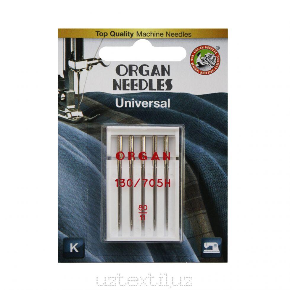 Иглы Бытовые Organ 130/750H HAx1 70 (10) в Блистере