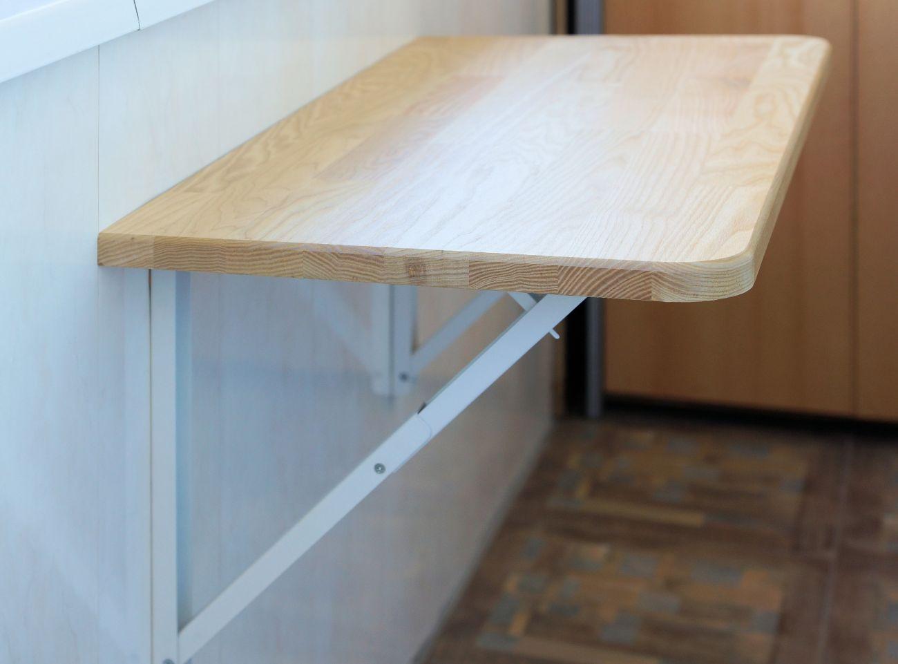 Мини Кронштейн для откидного стола (крепление к стене) - HSH34