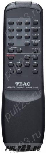 TEAC RC-1275, CD-RW890