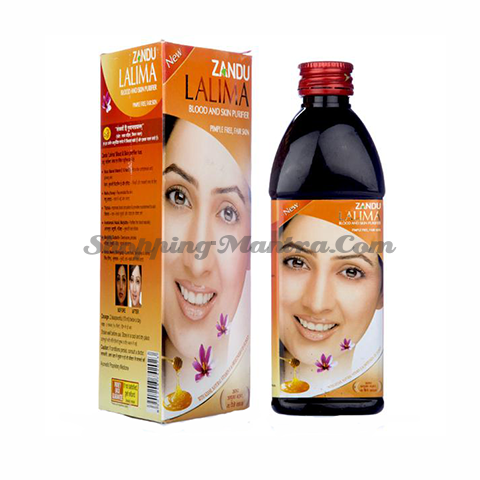 Лалима сироп для очищения крови Занду Аюрведа | Zandu Ayurveda Lalima Blood Purifier