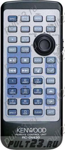 KENWOOD RC-DV430, DDX6019, DDX-6029, DDX-7015, DDX-8639, KDV-412, KDV-MP6333, KVT-617DVD