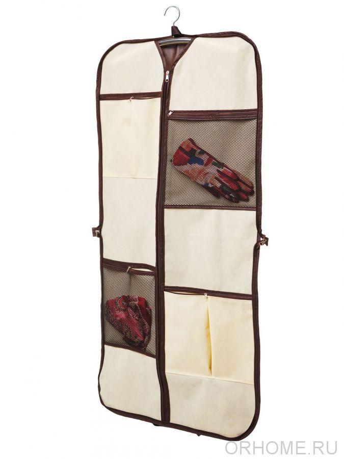 Чехол для одежды дорожный, складной, 120*60 см
