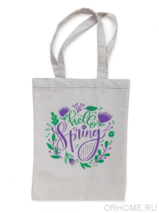 "Сумка-шоппер  ""Здравствуй, Весна"""