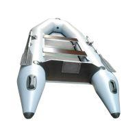 Гелиос 31МС плоскодонка+слань (лодка ПВХ под мотор)