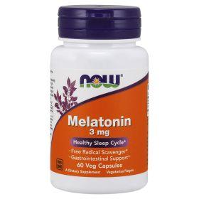 Melatonin  3 мг 60 капсул (NOW)