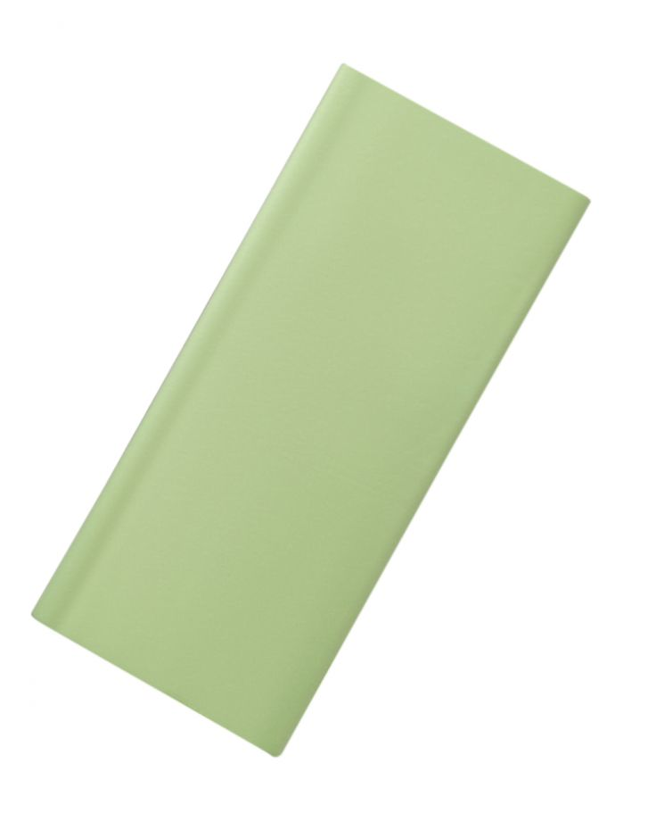Бумага упаковочная, подарочная. Тишью. Фисташковый. 50х66 см. 10 листов.