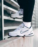 Nike Air Monarch IV White Silver