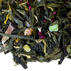 """Зеленый чай """"Румяный персик"""""""