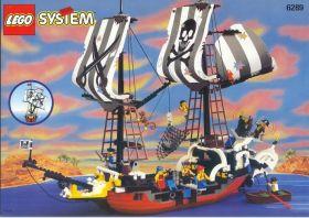 6289 Лего Пиратский корабль Красной бороды