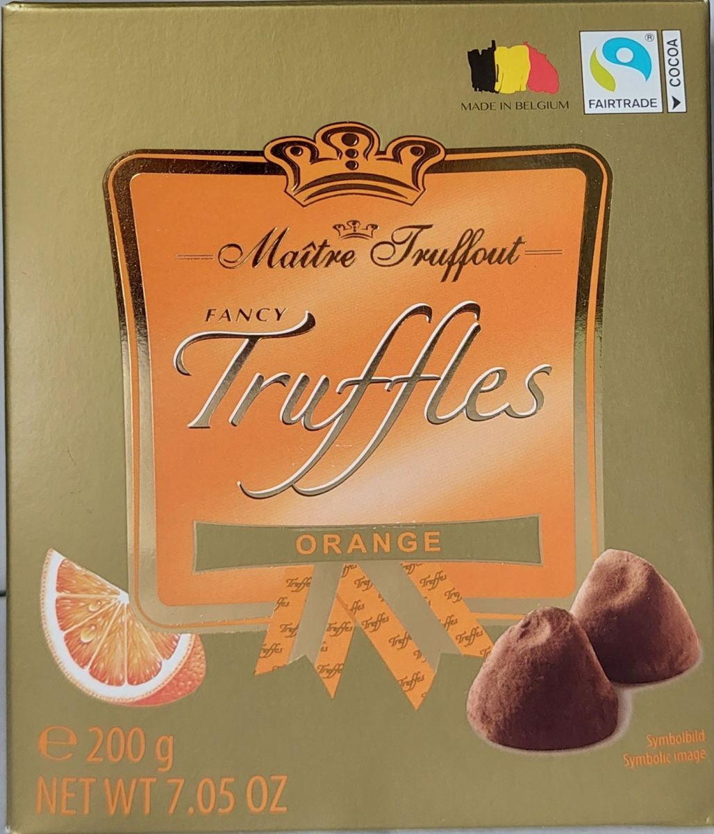 Трюфели Maitre Truffout (апельсин) 200г