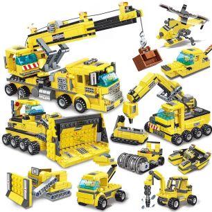 Конструктор LEGO строительная техника 8 в 1