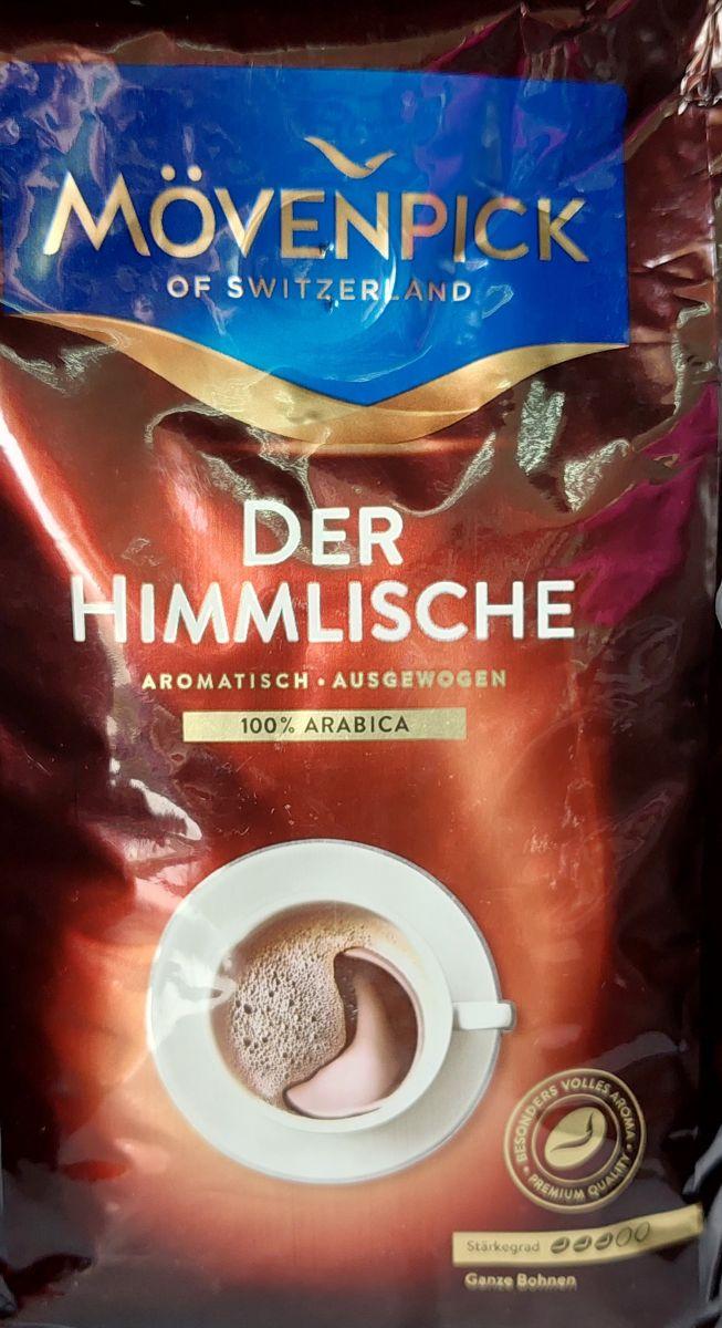 Кофе в зернах Movenpick Der Himmlische (3) 500г