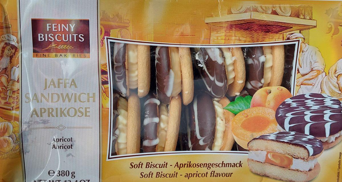 Печенье Feiny Biscuits (абрикос) 380г