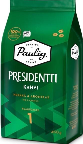 Кофе в зернах Paulig Presidentti (1) 450г
