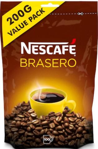 Кофе растворимый Nescafe Brasero (3,5) 200г