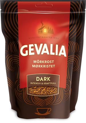Кофе растворимый Gevalia Dark (4) 200г мягкая упаковка