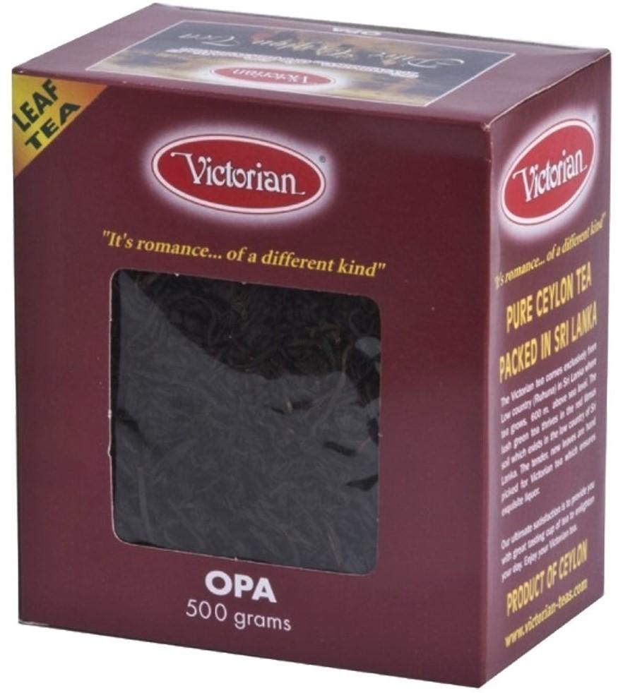 Чай Victorian черный крупнолистовой 500г