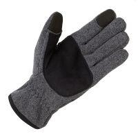 Вязаные перчатки из флиса_1495