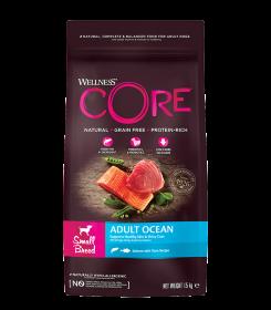 CORE Wellness из лосося с тунцом д/взрослых собак мелких пород