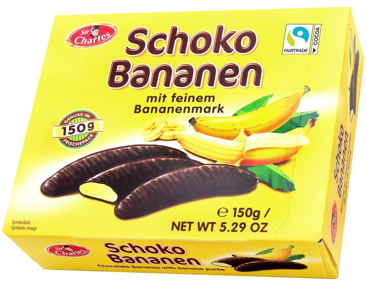 Бананы в шоколаде Sir Charles 150г
